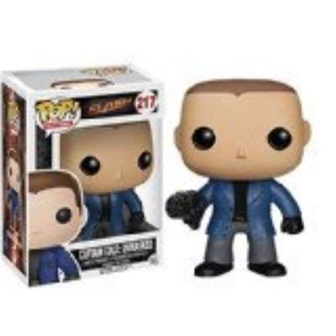 Funko POP TV The Flash Captain Cold Unmasked EE Exclusive