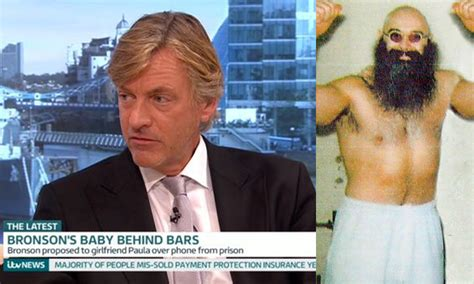Charles Bronson is suing Richard Madeley for defamation