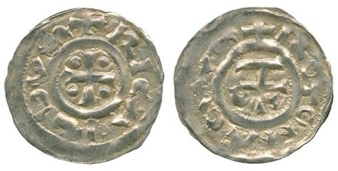 Richard I of Normandy *the Fearless* (933-996) , Denier