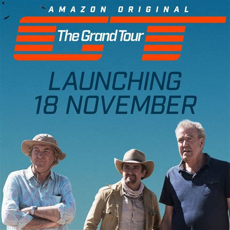 Amazon Prime Video To Launch New Series THE GRAND TOUR On