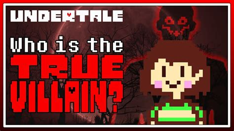 Is Chara Truly The Villain Of Undertale? - YouTube