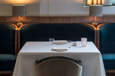 The Most Popular Seating in Town Is the Blue Banquette