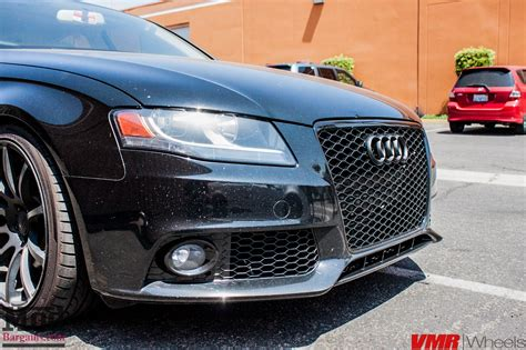 Quick Snap: Blacked-Out B8 Audi A4 on Solo-Werks Coilovers