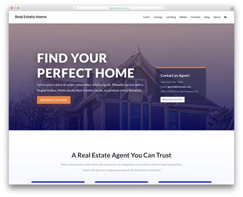 24 Top Bootstrap Real Estate Website Templates 2020 - Colorlib