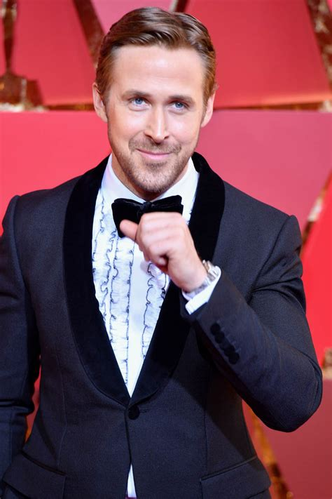 Ryan Gosling laughs during Best Picture snafu at 2017 Oscars