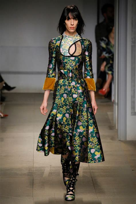 Erdem Fall 2017 Ready-to-Wear Collection - Vogue