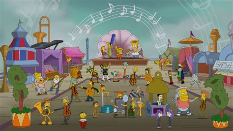 Musicville couch gag | Simpsons Wiki | FANDOM powered by Wikia