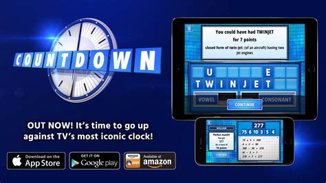 Brand new Countdown App for your mobile or tablet | Games