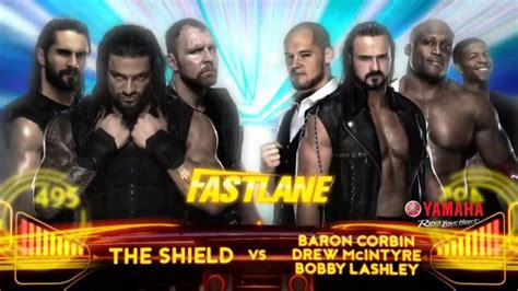 New matches announced for WWE Fastlane this Sunday