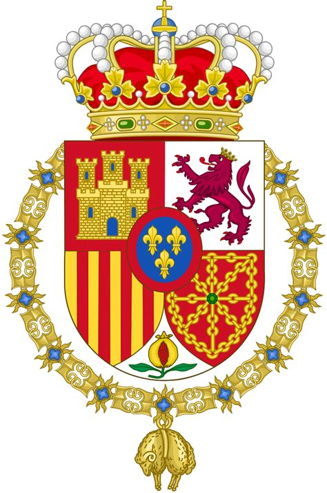 Fichier:Coat of Arms of Spanish Monarch