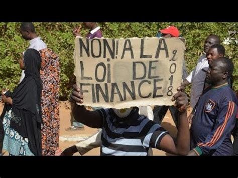 Niger : interdiction d'une manifestation contre la loi de