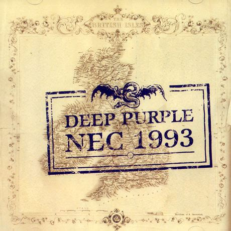 DEEP PURPLE Live At The NEC 1993 reviews