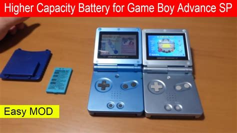 How to modify Battery for Nintendo Game Boy Advance SP GBA