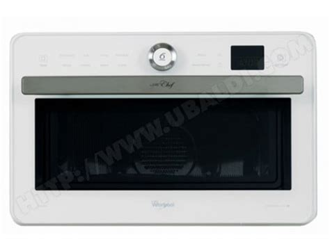 WHIRLPOOL JT469WH Pas Cher - Micro ondes Combiné WHIRLPOOL