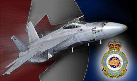 Canadian Air Force F/A-18 for FSX