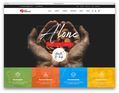 33 Best WordPress Themes For Non-Profits, Charity