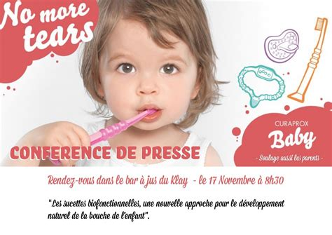 Curaprox lance Curaprox Baby : l'expertise bucco-dentaire
