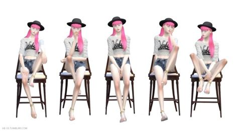 SEAT POSE M,D CAS&PLAY at HESS » Sims 4 Updates