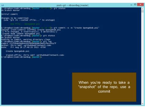vBrownBag - Scripting and Versioning with PowerShell ISE