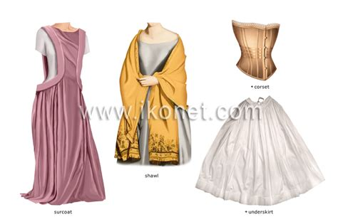 clothing > elements of ancient costume image - Visual