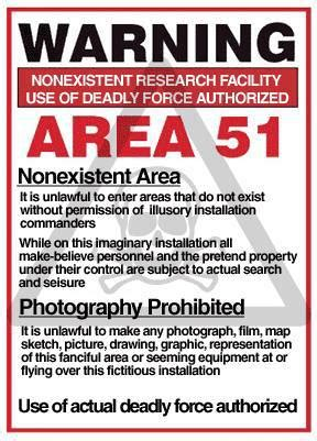 Good news alien enthusiasts! Area 51 officially exists!