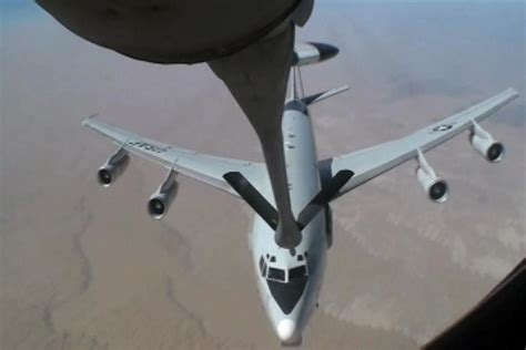 DVIDS - Video - E-3 Sentry (AWACS) Aerial Refueling