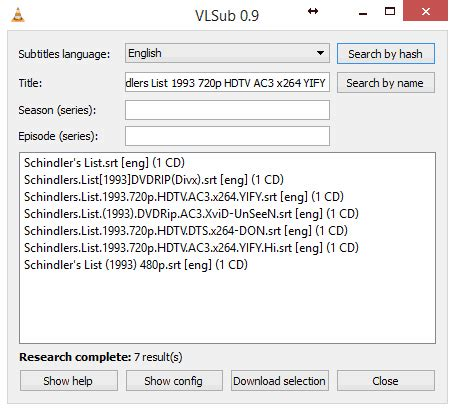 Download Subtitles From Within The VLC Player