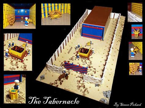 Minifig Scale LEGO Hebrew Tabernacle | The tabernacle