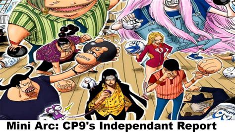 CP9's Independent Report! - (Colored) - One Piece Cover