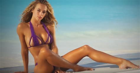 Watch Former Maxim Cover Model Hannah Ferguson's Sexy