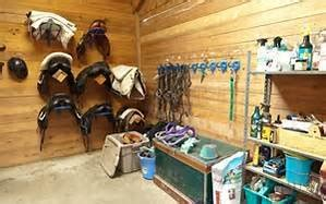 "Spring ""Green"" Cleaning the Tack Room and Barn"