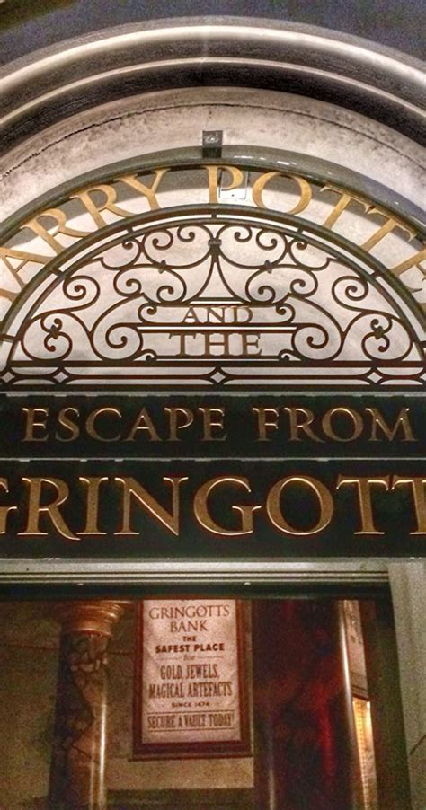 Harry Potter and the Escape from Gringotts (2014) - IMDb