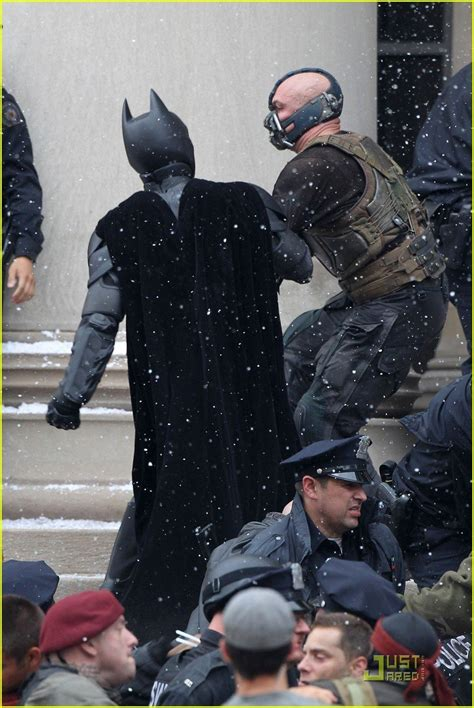 Latest Set Images From 'THE DARK KNIGHT RISES' Reveal BANE