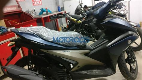 Aerox 155 spied in India: Is this Yamaha's secret scooter