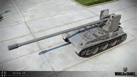 Grille 15 - Chasseurs de chars allemands - World of Tanks