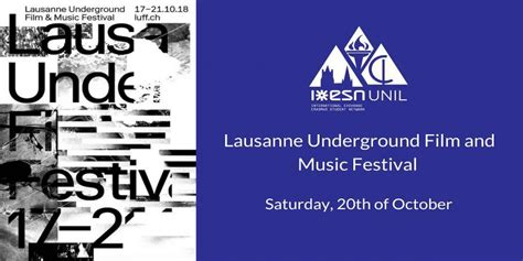 ESN UNIL | Lausanne Underground Film and Music Festival