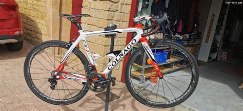 Colnago cx 1 campagnolo eps taille 50 sloping, vente