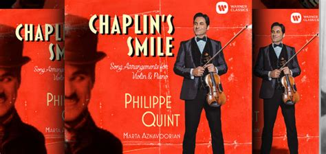 Violinist Philippe Quint's 'Chaplin's Smile' CD Winners