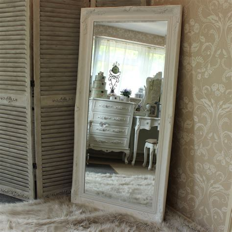 Extra Large White Ornate Mirror - Melody Maison®