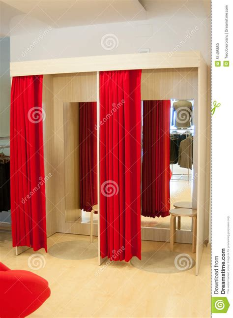Fitting Rooms Stock Photo - Image: 51495850