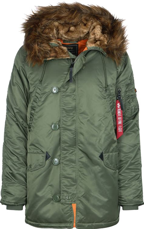 Alpha Industries N3B VF 59 jacket olive