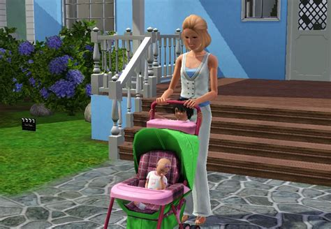 Mod The Sims - Toddler Stroller Poses