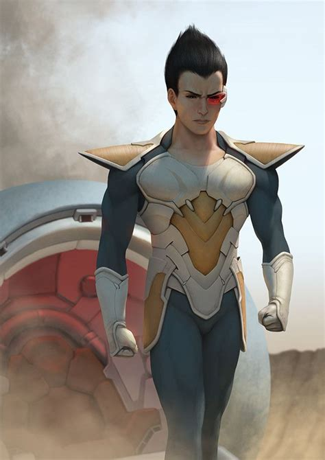 Vegeta, Rafael De Guzman on ArtStation at https://www