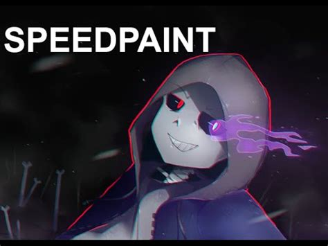 Dusttale Sans Speedpaint - YouTube