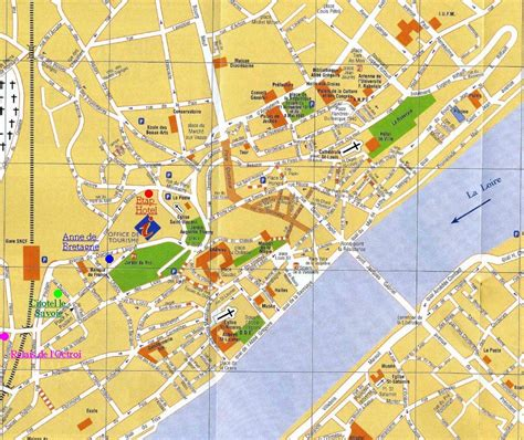 Blois Map and Blois Satellite Image