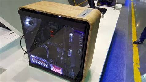 In Win Shows Off Tempered Glass and Wood PC Cases at