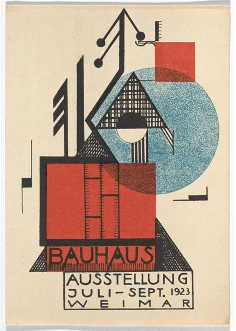 Bauhaus postcards from 1923 – Life moves pretty fast