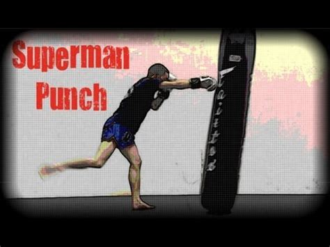 Muay Thai - How to Throw a Superman Punch - YouTube