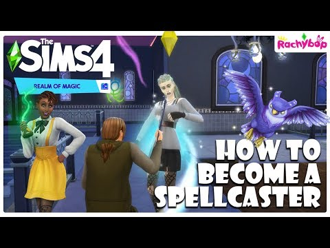 The Sims 4 Realm of Magic | Becoming a Spellcaster