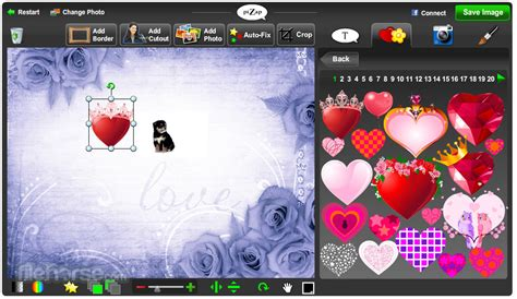 piZap - Add funny graphics and funny effects on your photo
